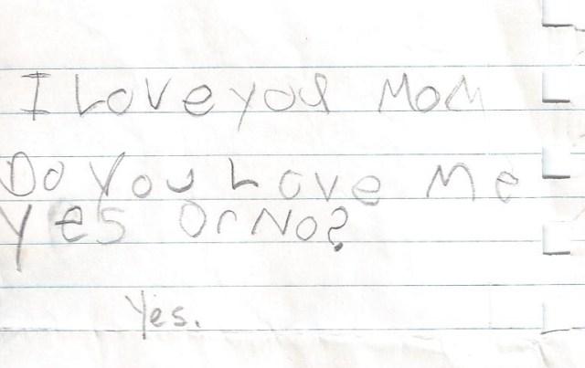 Greta's Love Note