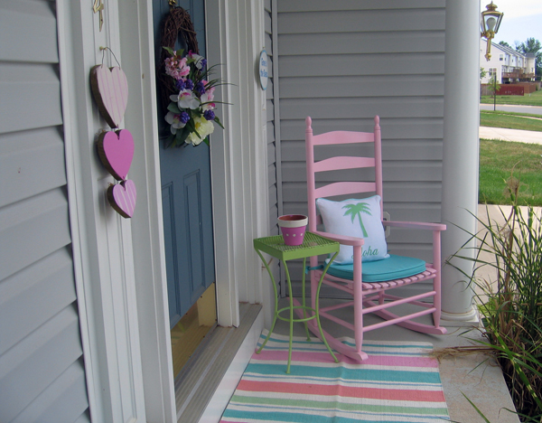 The Pink Porch Afternoon Artist