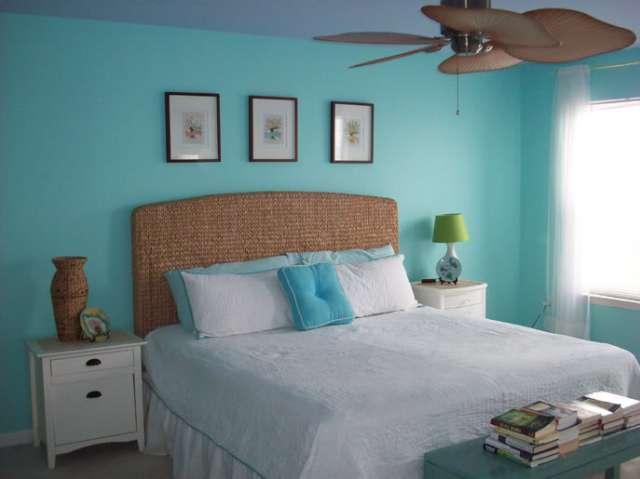 Color Changes Everything Aqua Master Bedroom Makeover Afternoon Artist