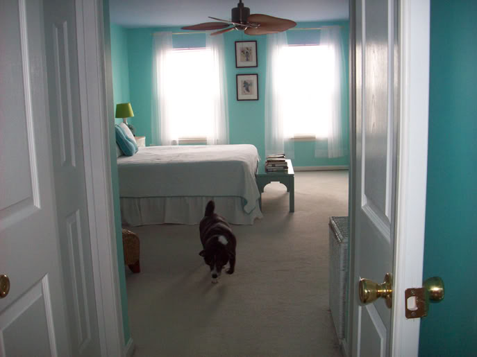 color changes everything aqua master bedroom makeover afternoon