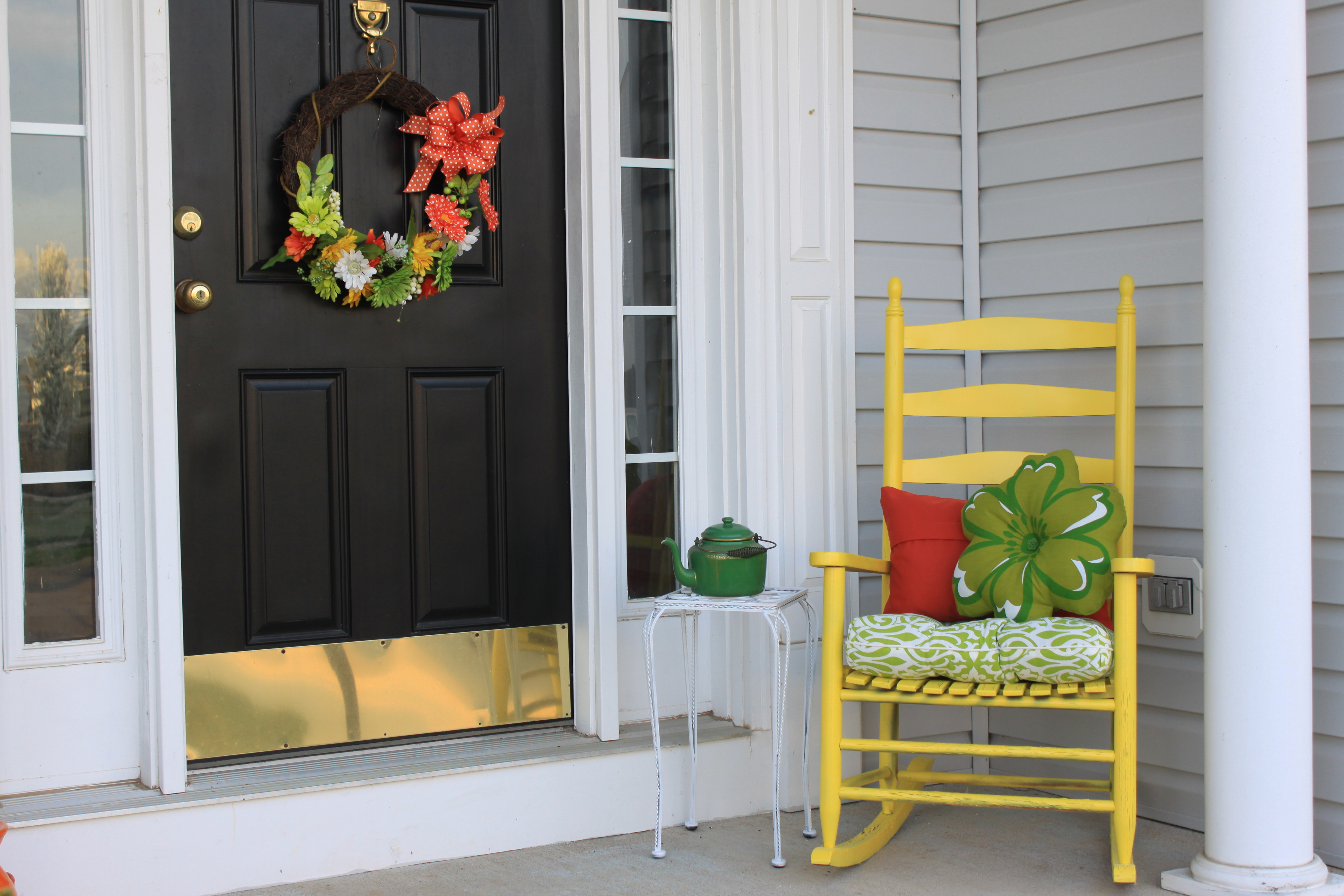 Colorful Porch Afternoon Artist