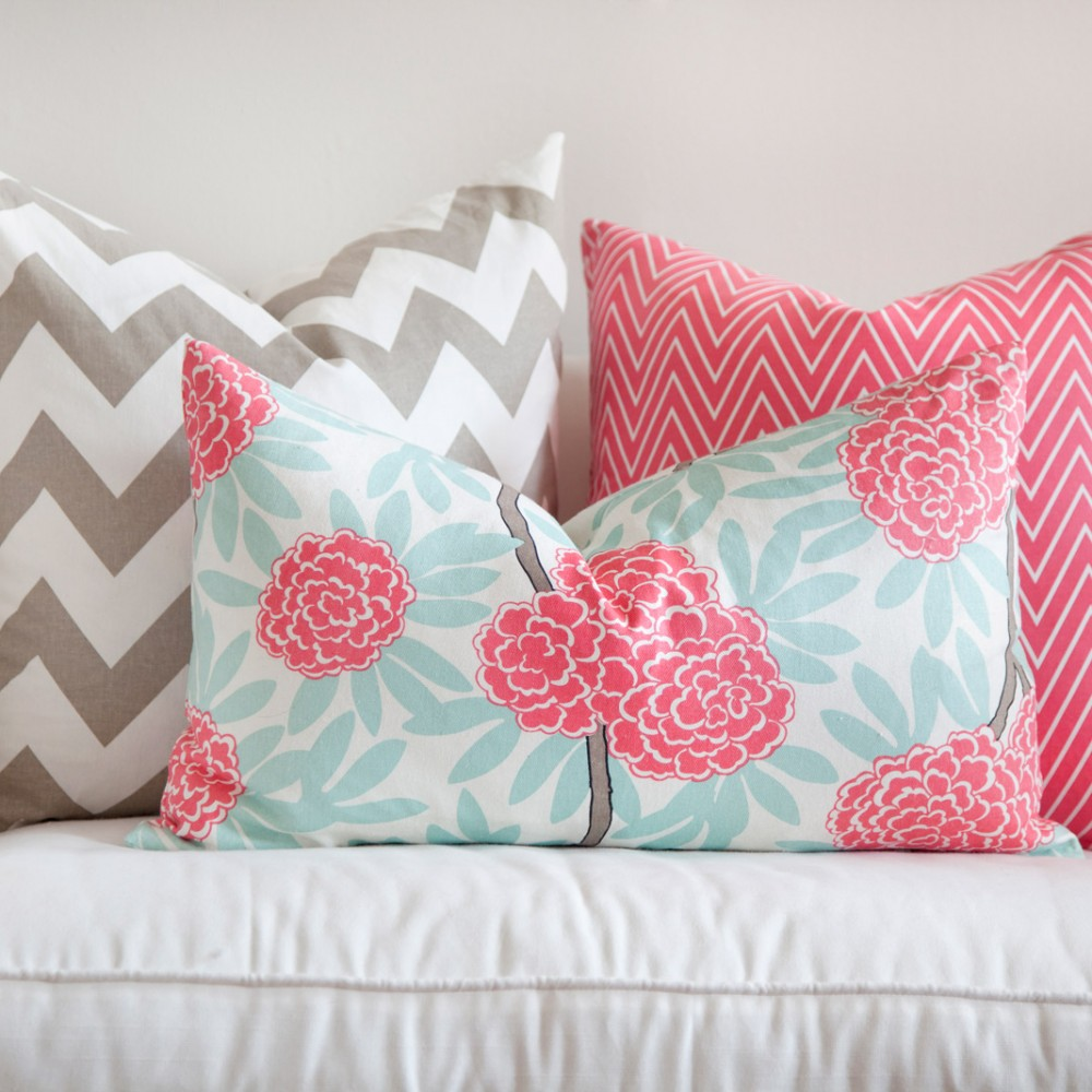 Caitlin Wilson Fleur3 Pillow Covers : Afternoon Artist