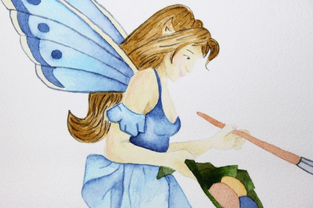 Cindy's Fairy Artist Closeup