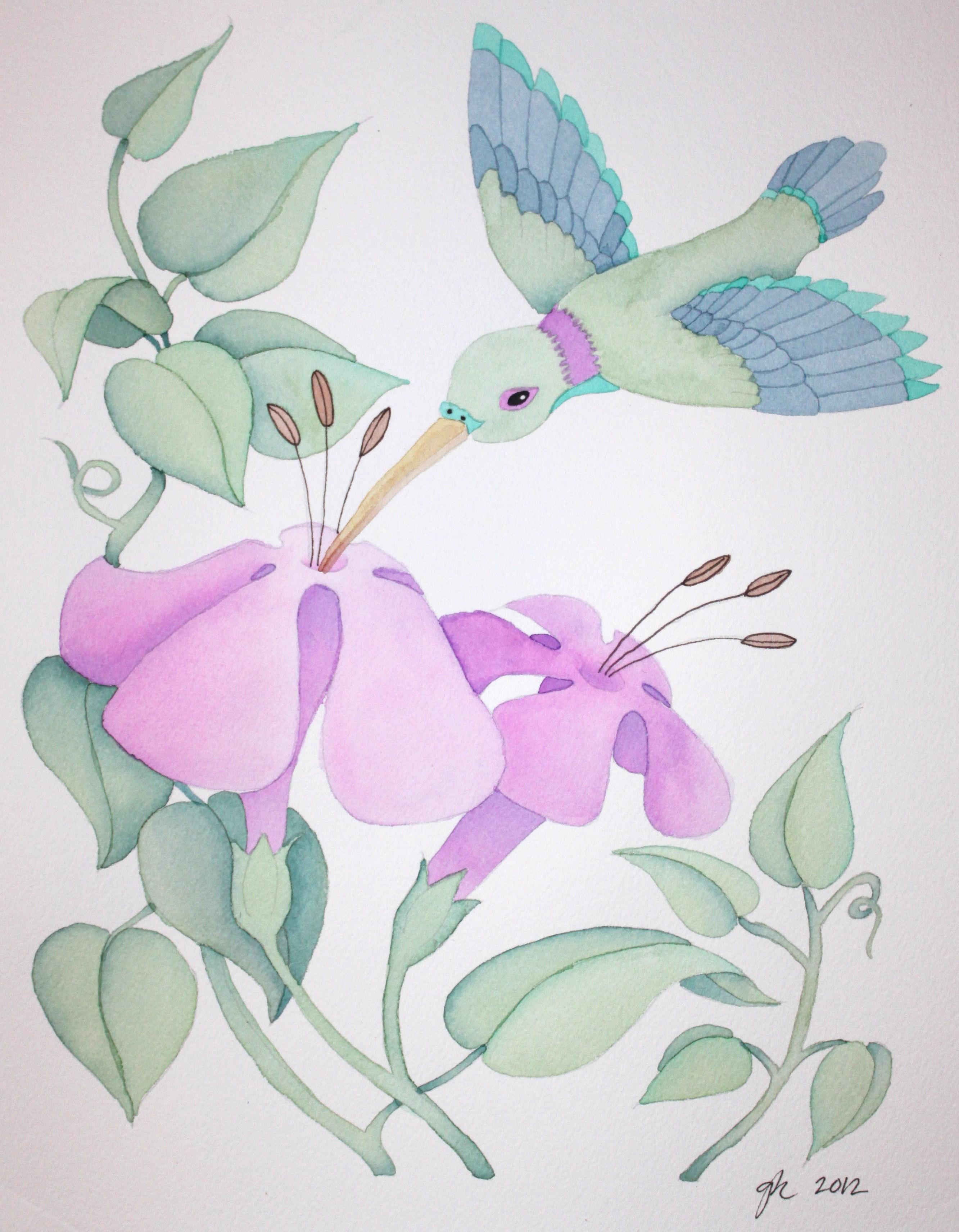 Greta's Hummingbird1