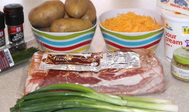 Twice Baked Potatoes Ingredients1