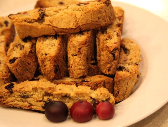 Cranberry Biscotti1