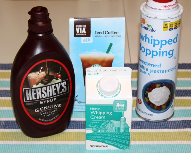 Iced Mocha Ingredients