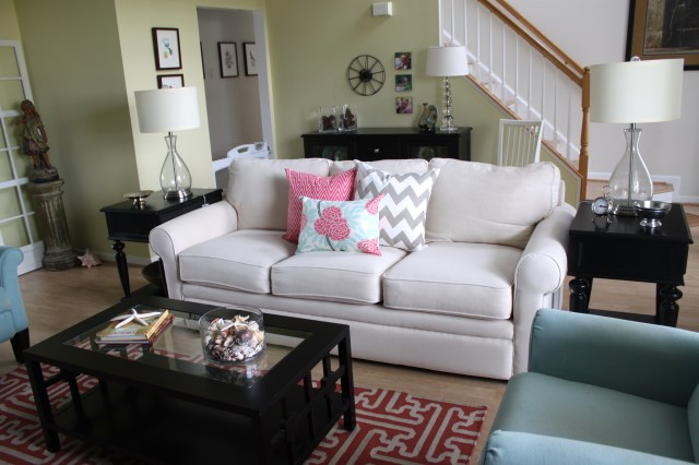 Spring Living Room Makeover1
