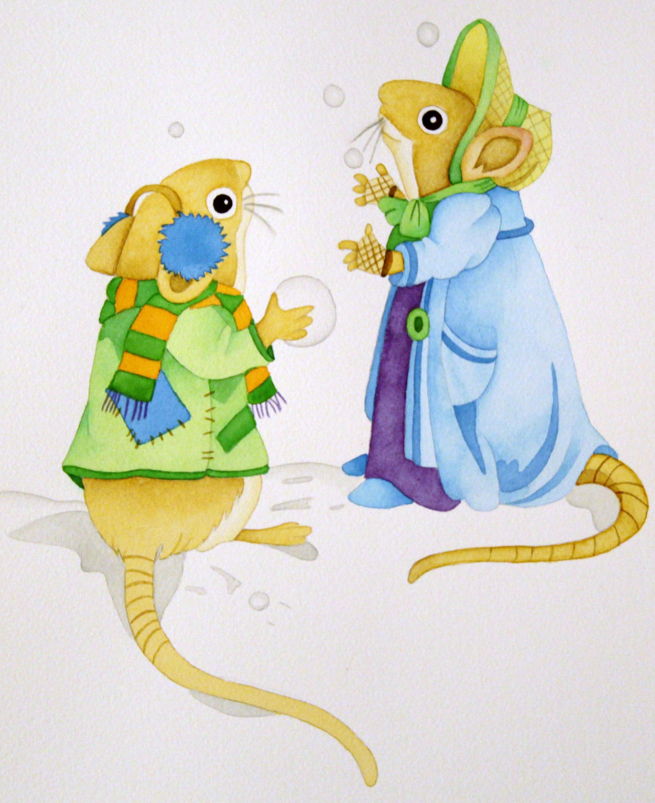 Winter Mice1