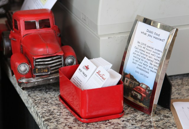 Red Truck Bakery Counter