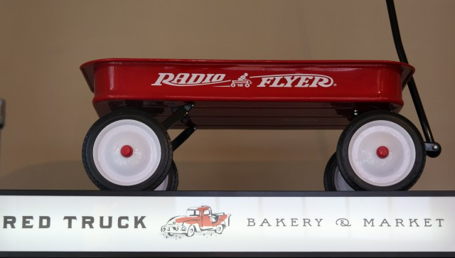 Red Truck Bakery Radio Flyer