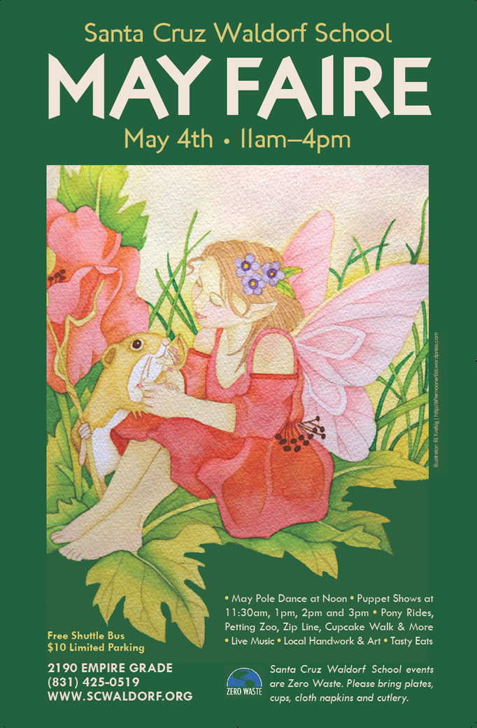 Santa Cruz Waldorf School May Faire Poster Final
