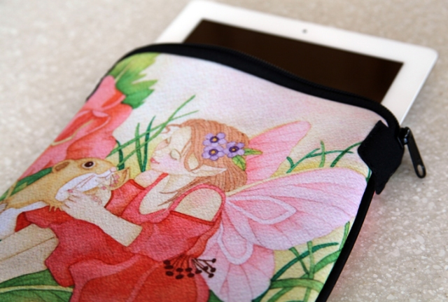 Rose Petal Fairy iPad Case4