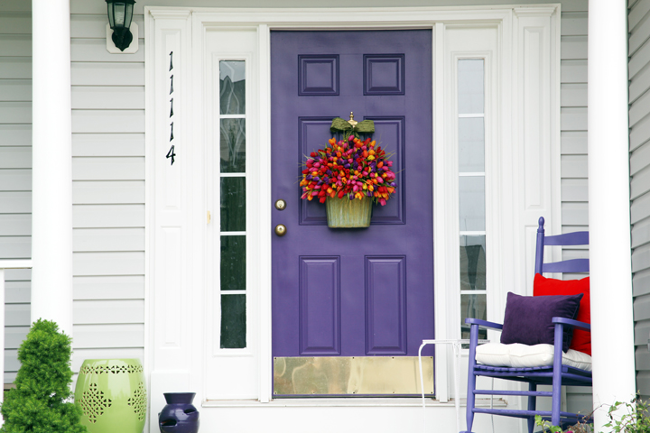 Making An Entrance Part Iii Colorful Porch Makeover