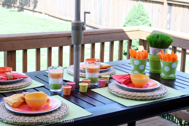 Colorful deck accessories