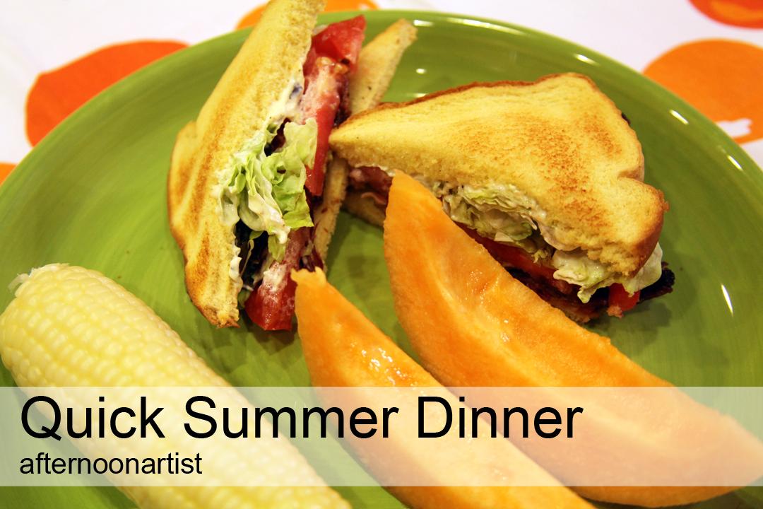 quick summer dinner
