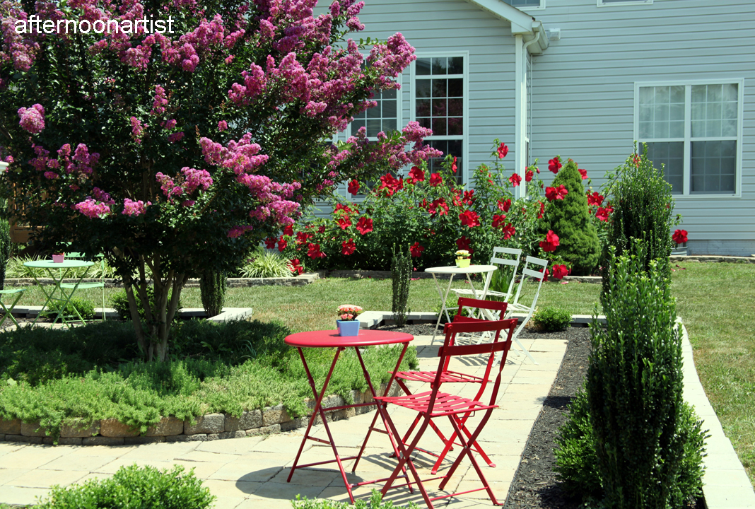 My summer garden afternoon artist for My gardener landscaping