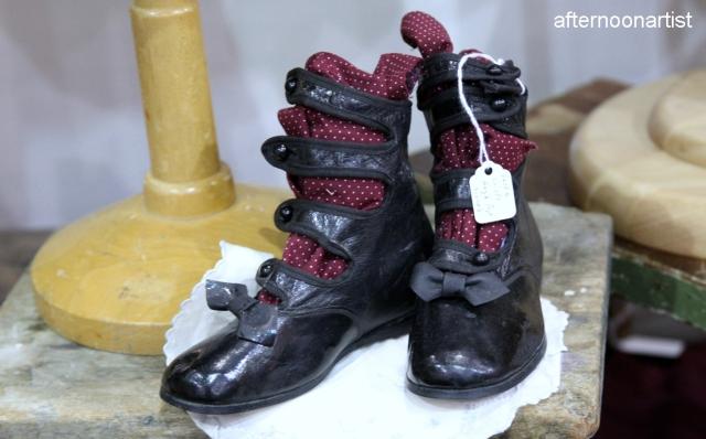 vintage children's gladiator boots