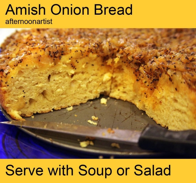 Amish onion bread