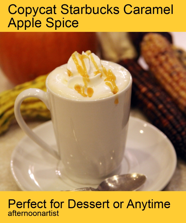 Copycat Starbucks Caramel Apple Spice