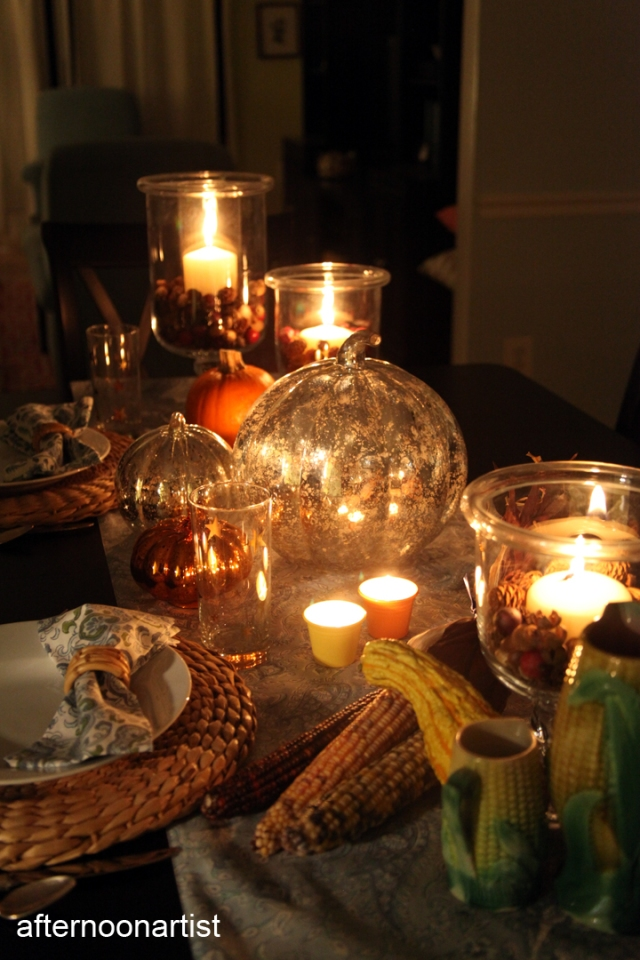 Thanksgiving Candlelight Dinner for Two